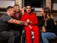 Samen strijden voor hulp aan Damian (21) uit Emmeloord