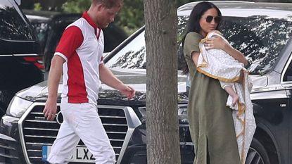 IN BEELD. Harry en Meghan nemen baby Archie mee voor eerste uitje in het openbaar