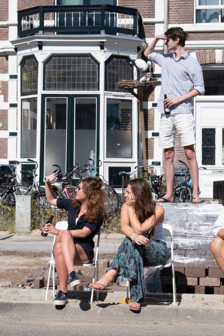 Studenten aan de Via Gladiola balen: 'De Vierdaagseweek is de mooiste week van het jaar'