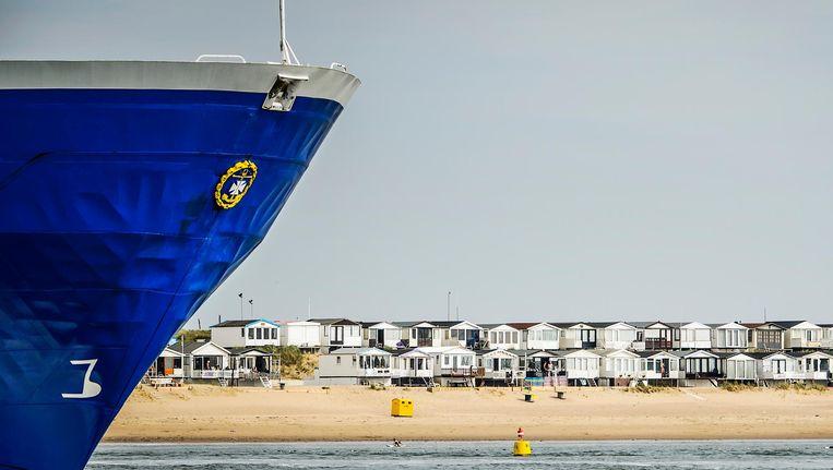 De haven van IJmuiden Beeld anp