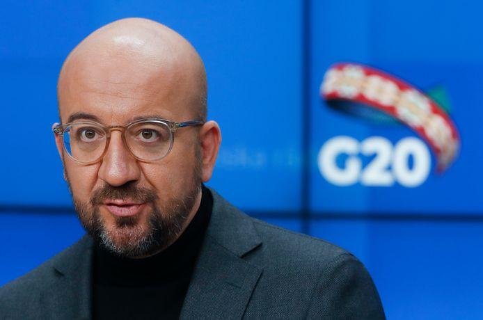 Charles Michel, huidig voorzitter van de Europese Raad..