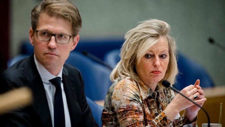 Van schooldirecteuren krijgt Bussemaker een 5,7, staatssecretaris Dekker moet het met een 4,6 doen. Beeld ANP