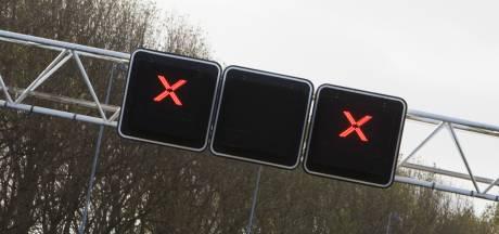 Ongeluk met meerdere auto's op A58 ter hoogte van Oirschot