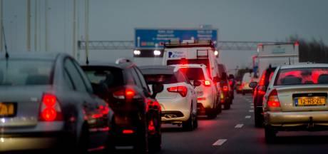 A6 dicht tussen Lemmer en Bant na ongeval