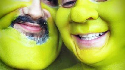 Heidi Klum maakt er weer werk van: model kruipt in de huid van Shreks echtgenoot Fiona