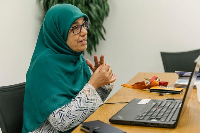 Marzouka Boulaghbage.
