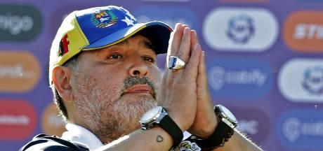 Diego Maradona blijft toch bij Gimnasia