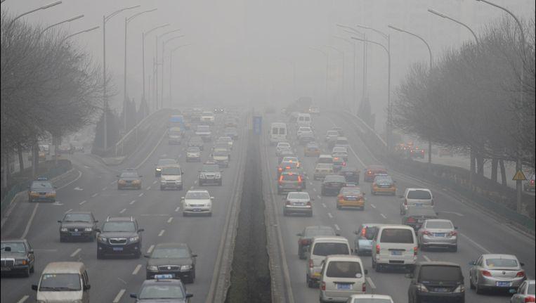 De luchtvervuiling in Peking neemt zorgwekkende proporties aan?
