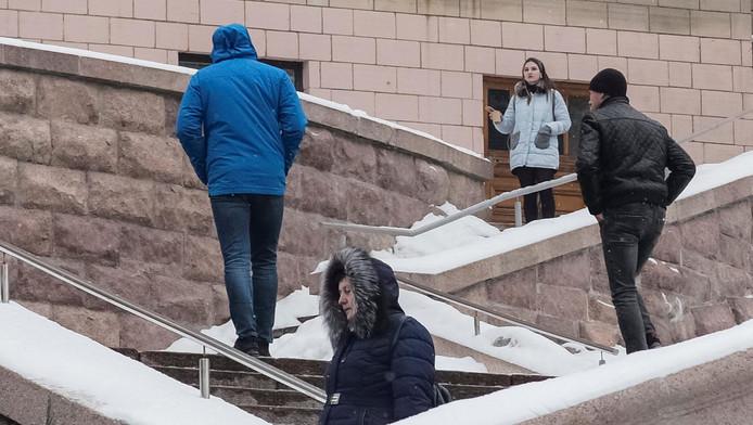 Kiev dans le froid, le 10 janvier.
