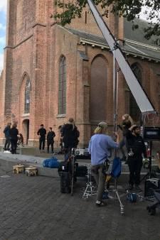 Tv-opnames door heel Woerden voor dramaserie op NPO 3