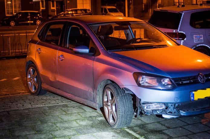 De auto die betrokken was bij het ongeval op de Eisenhowerlaan in Eindhoven werd aangetroffen op de Boschdijk.