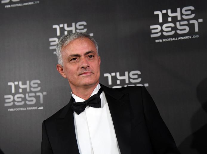 José Mourinho tijdens het FIFA-gala van vorige maand.