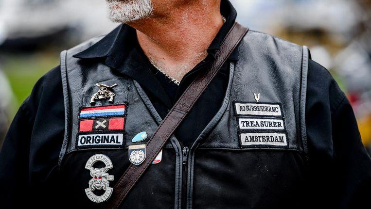 Jan Piet van Rossum werd aangehouden in het onderzoek naar Klaas Otto, de oprichter van motorclub No Surrender. Beeld anp