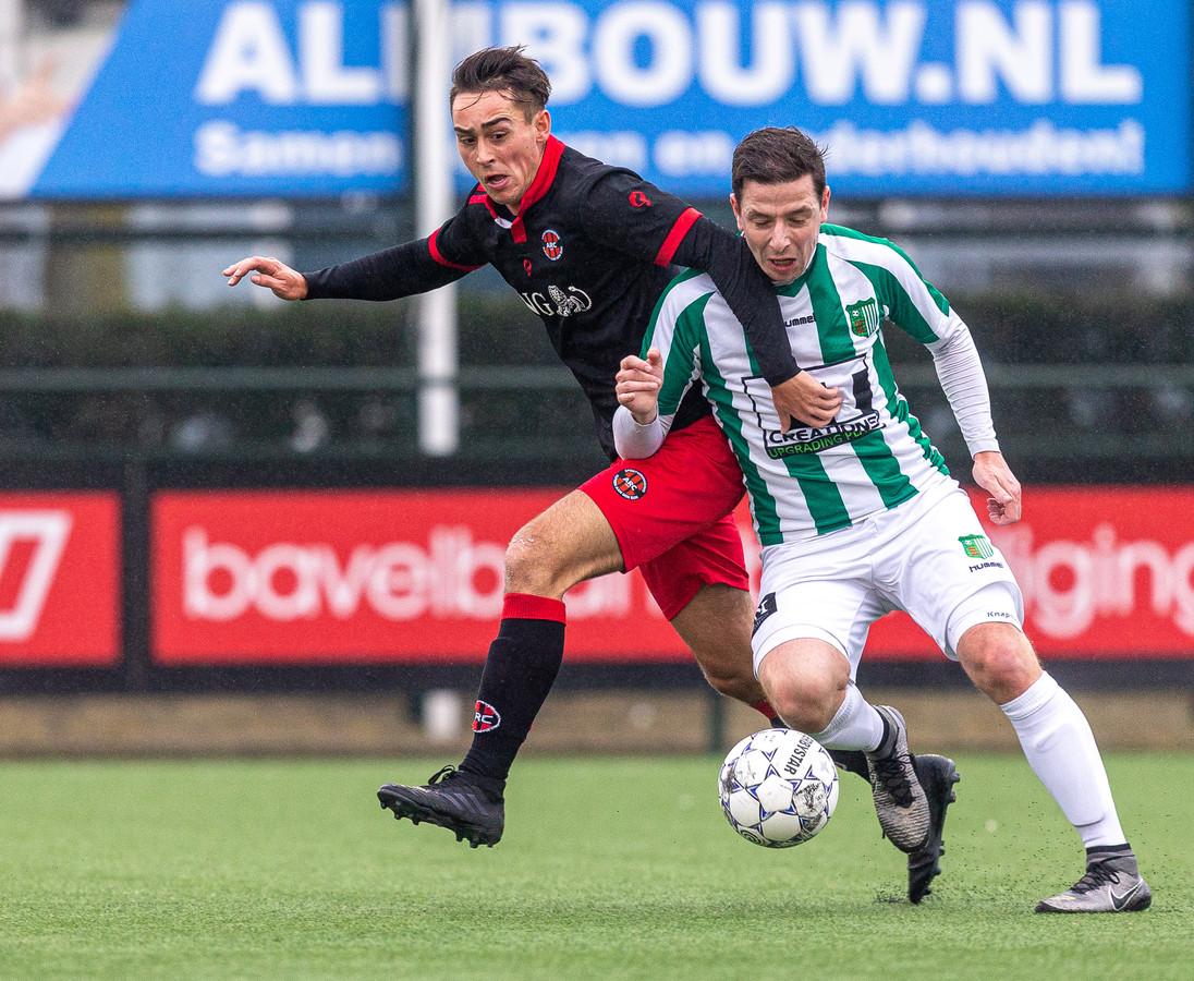 Achilles Veen-spits Rémon Koenen scoorde tweemaal tegen Achilles'29. (archieffoto)
