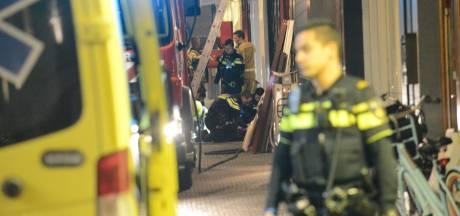 Twee gewonden bij brand in Schoolstraat in Den Haag