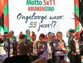 Nieuw motto in Kruikenstad: 'Ongelooge waor, 55 jaor!?'