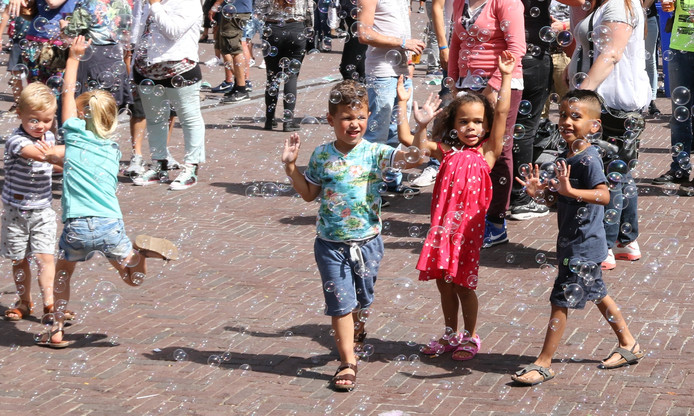zeepbellen spatten uiteen, city of dance zeker niet