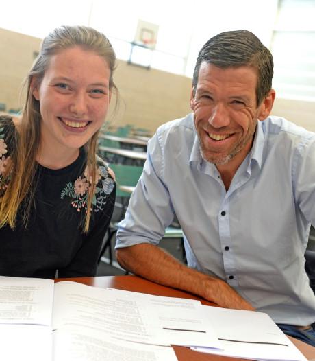 Schaatskampioen Romme doet examen: 'Duits moeilijker dan je denkt'