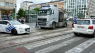 Fietsster kritiek na aanrijding op Louizaplein
