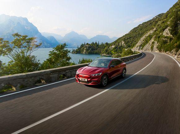De Ford Mustang Mach-E.