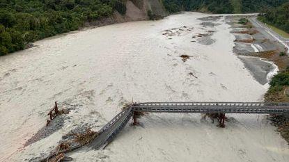 Hevige storm en overstromingen in Nieuw-Zeeland: vrouw komt om het leven