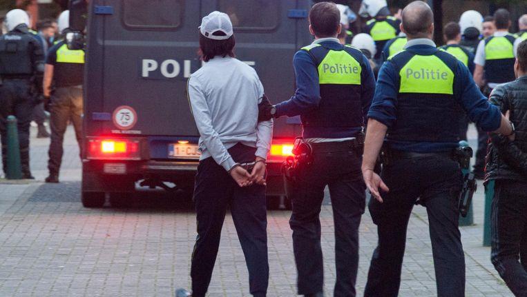 Archiefbeeld van de Antwerpse politie.