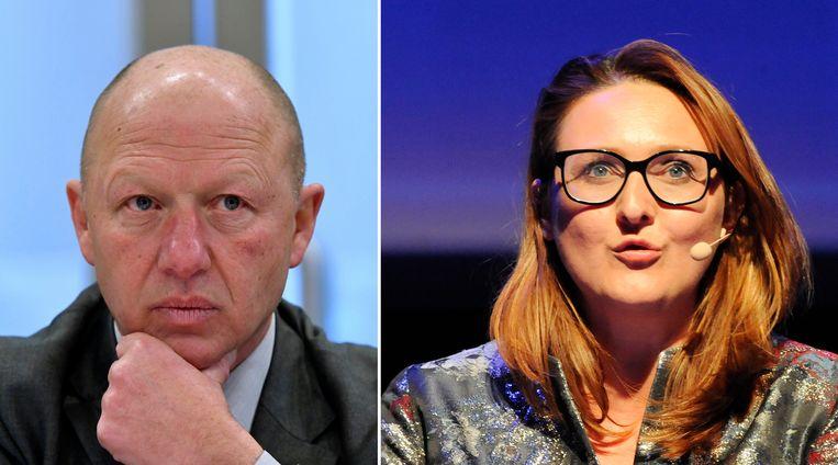 Hans Bonte (links) en Gwendolyn Rutten zijn nog volop aan het onderhandelen.