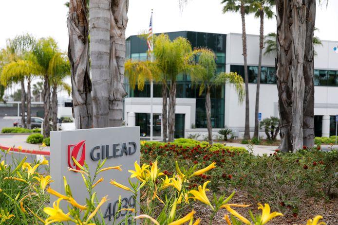 Le siège de Gilead, l'entreprise détentrice du brevet (Oceanside, Californie)