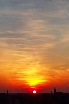 Het weer van zaterdag: Stuivertje wisselen tussen stapelwolken en de zon