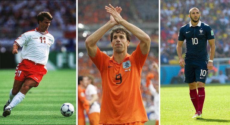 Laudrup, van Nistelrooij, Benzema