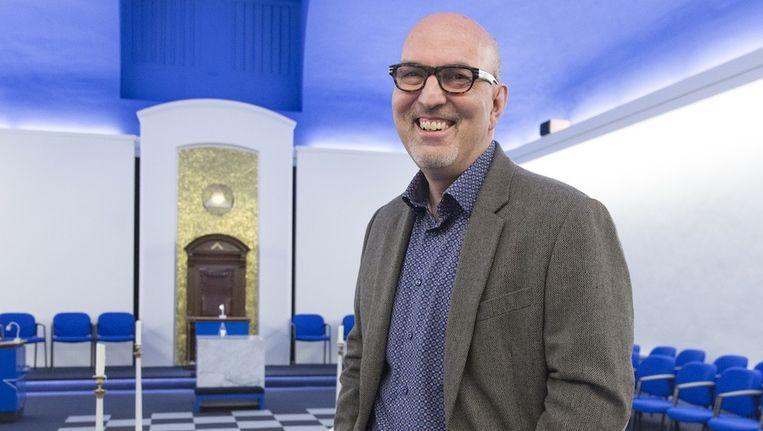 Meester Hans van der Vliet: 'Wij zijn gewone mensen' Beeld Johannes Abeling