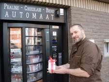 Valentijn vergeten? Vlaamse chocolatier biedt redding: bonbon-automaat