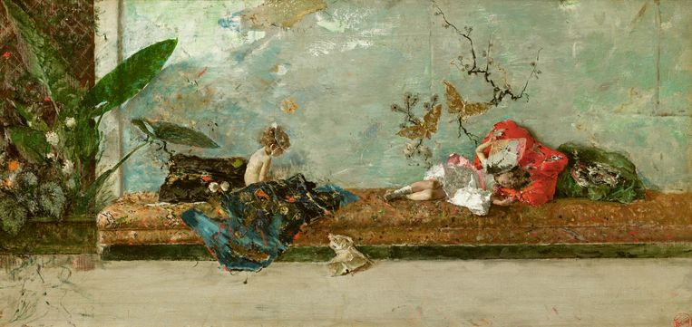 'Een 19de-eeuwse Spaanse schilder die in Venetië zijn hoogtijdagen beleefde. Er zit een melancholie in waar ik van hou.' Beeld null