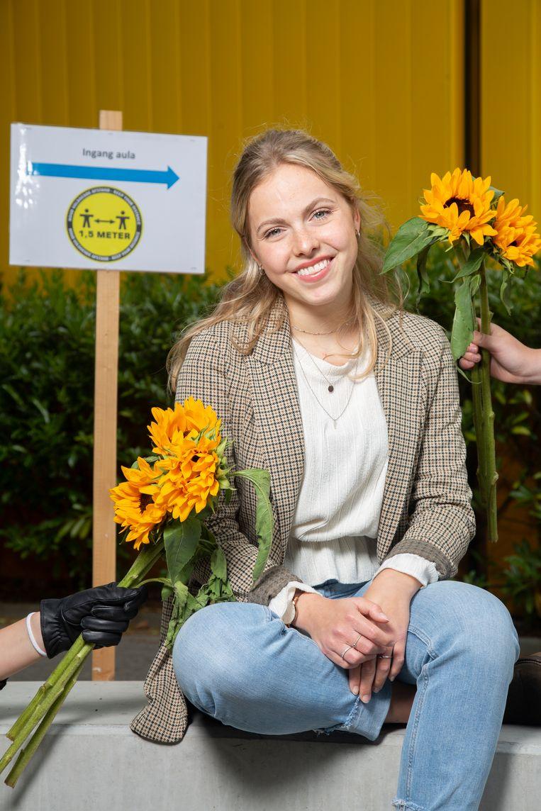 Julie Folkerts Beeld Vivian Keulards
