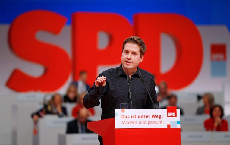 Kevin Kühnert.  Beeld REUTERS