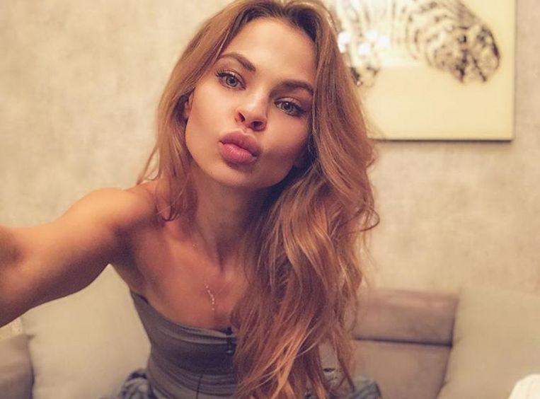 Anastasia Vasjoekevitsj (21), als escort ook bekend onder naam Nastya Rybka.