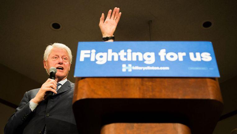 Bill Clinton. Beeld null
