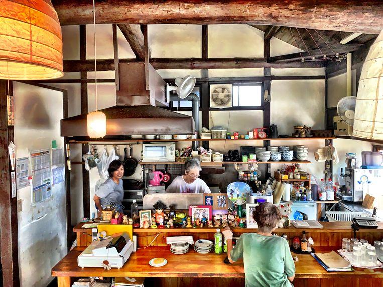 Ishii Shouten-restaurant in Honmura waar ook een Art-houseproject is. Beeld null