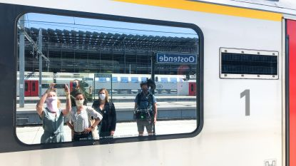 Extra treinen naar de kust vanaf donderdag, niet vanuit Antwerpen