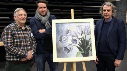 'Dieter' uit Thuis veilt kunst voor ALS Liga