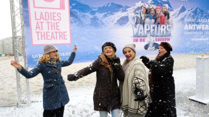 Vrouwenkomedie 'Vapeurs' trekt naar de sneeuw