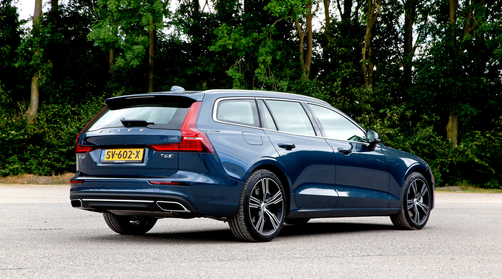 De V60: een van de nieuwste modellen van Volvo