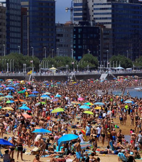 Hoogzomer en flink warm in Europese vakantielanden