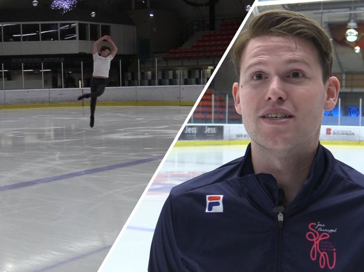 Beste Nederlandse kunstschaatser mag het ijs weer op: 'Droom is om carrière af te sluiten met een WK'