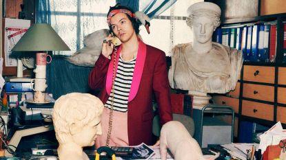 Harry Styles poseert (weer) met babydieren in campagne van Gucci