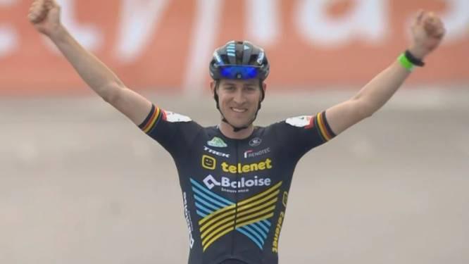 Toon Aerts wint solo in Ethias Cross Beringen, Iserbyt klautert naar tweede plaats