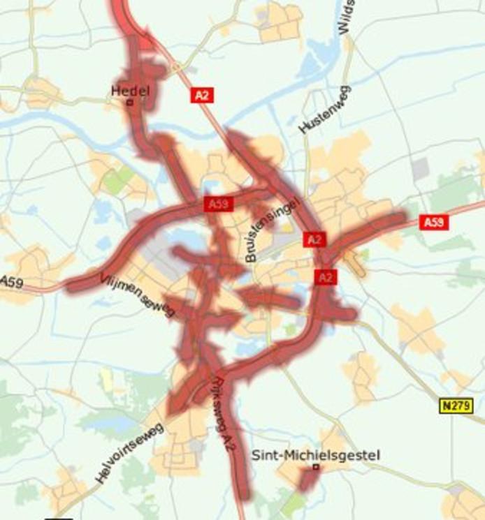 Chaos rondom Den Bosch