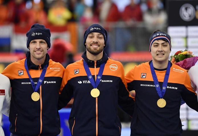 Ronald Mulder, Kai Verbij en Kjeld Nuis.