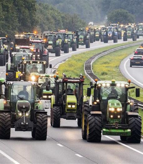 Megabedrijven betaalden duizenden euro's voor het boerenprotest