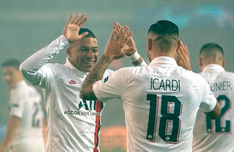 Kylian Mbappé en Mauro Icardi: de twee boosdoeners voor Club.